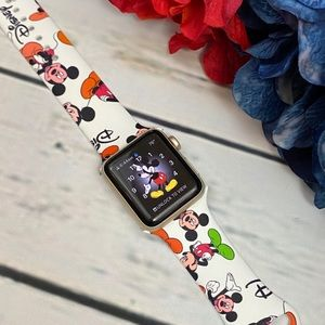 Mickey Mouse Silicone Watchband for Apple Watch